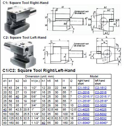 Z60S VDI Plug D=60mm
